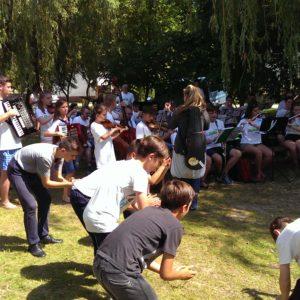 táncos gyerekek