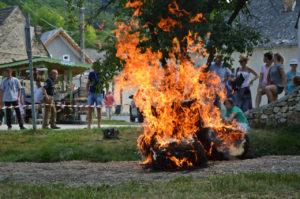 tűzoltó bemutat
